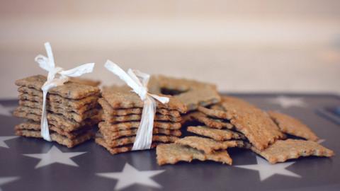 Rezept: Pansen-Frischkäse Kekse für Hunde