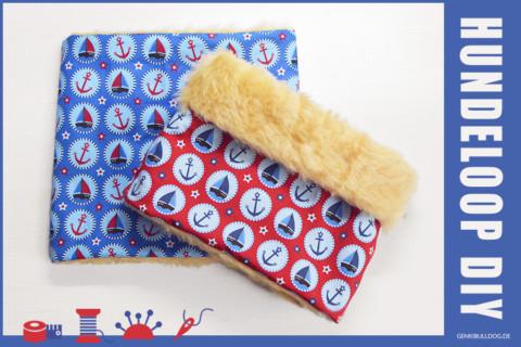 DIY – Loop-Schal für Hunde selbst nähen