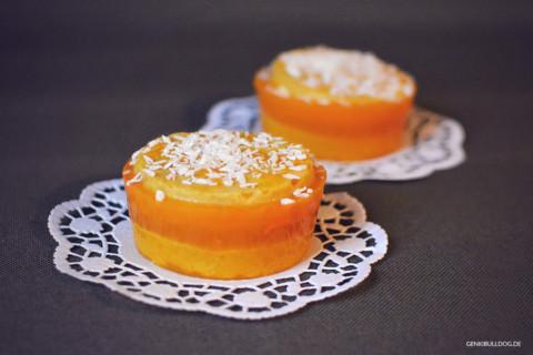 Rezept: Kürbis-Karotten Kuchen für Hunde