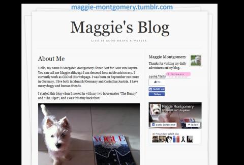 Meine Blogadresse