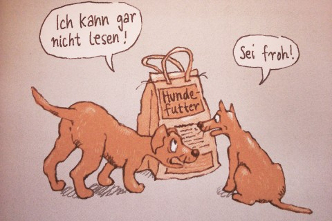 Mythen der Hundefütterung – Das Frauchen liest Bücher