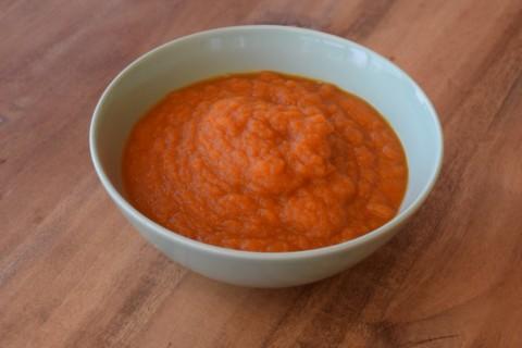 Immer gut vorbereitet. Warum wir Karottensuppe für Lilly im Tiefkühlfach haben.