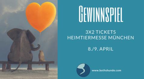 Gewinnspiel Heimtiermesse München 2017