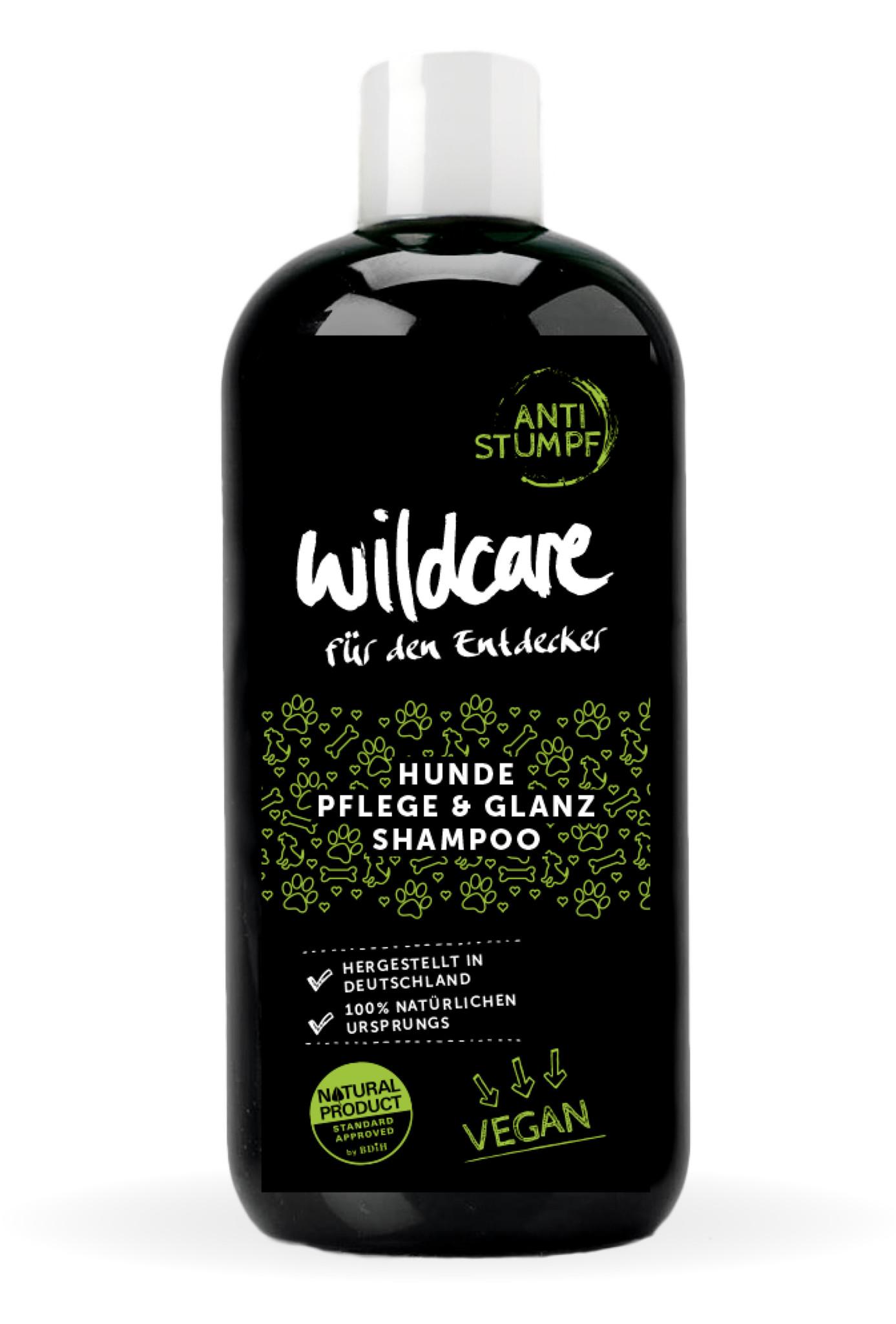 Hund Shampoo Glanz Wildcare