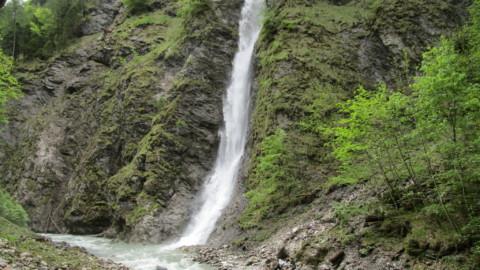 Ausflug zum Liechtensteinklamm