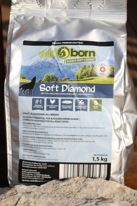 Leckerlietest – Wildborn Soft Diamond