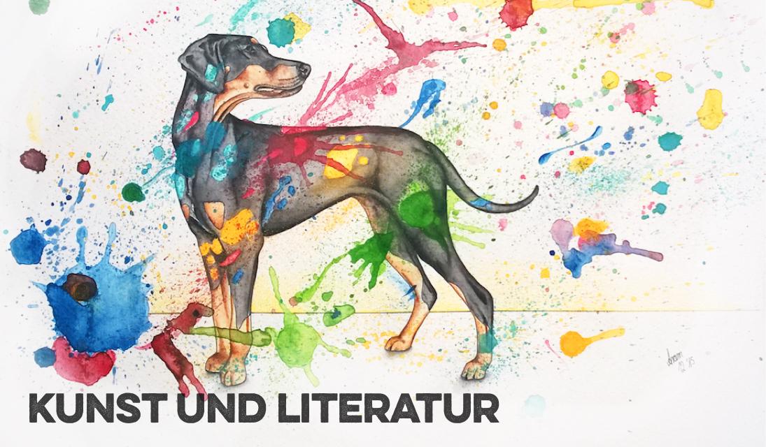 Kunst Literatur Hund miDoggy