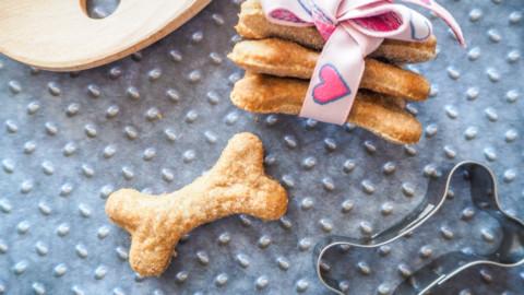 Leberwurstkekse für Hunde – selber backen!
