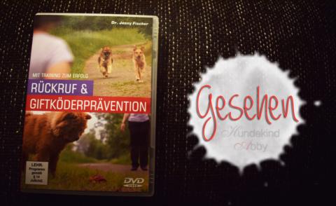 Rückruf & Giftköderpräventionskurs auf DVD – Werbung –