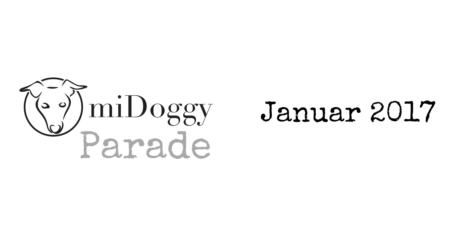 miDoggy Parade Blogparade Hundeblogger Januar 2017