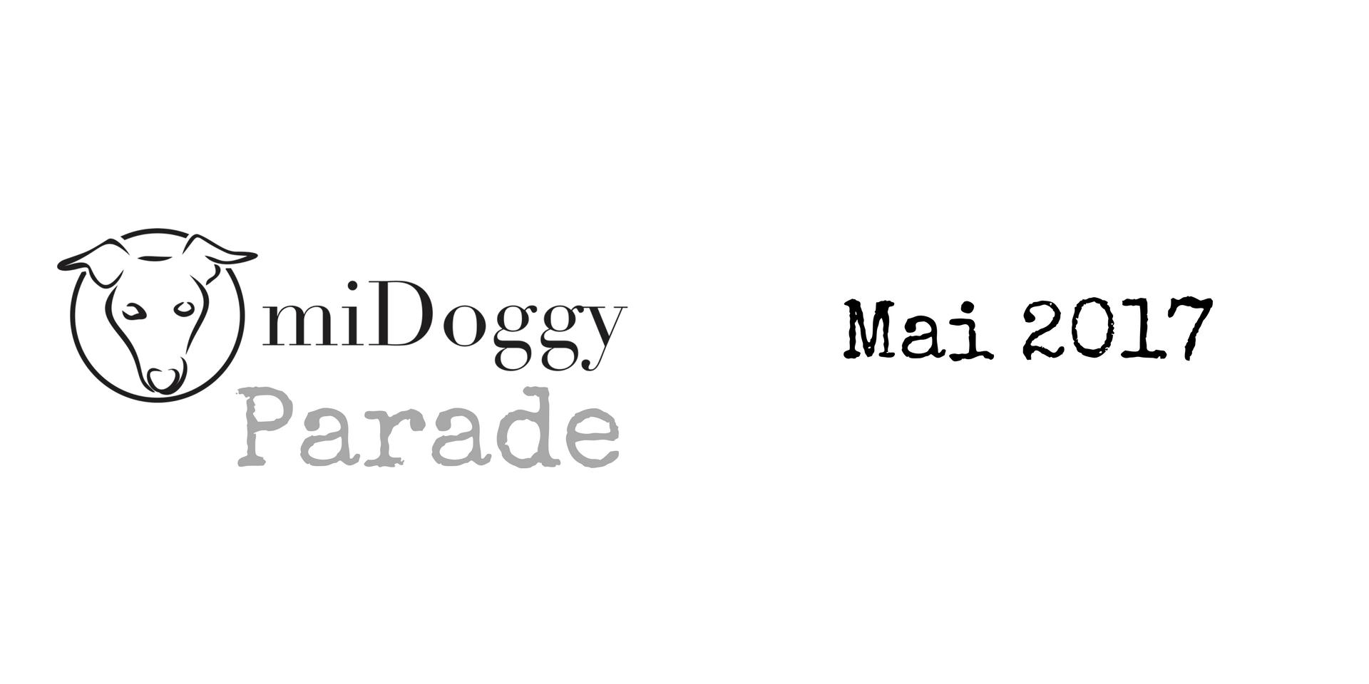 miDoggy Parade Blogparade Hundeblogger Mai 2017