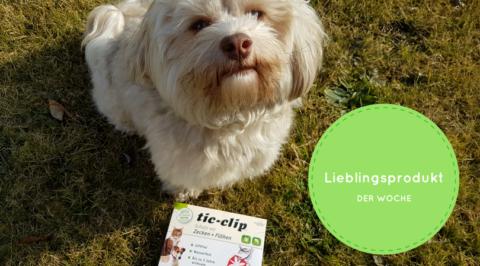 Unser Lieblingsprodukt der Woche: Anibio Tic Clip – natürlicher Floh undZeckenschutz