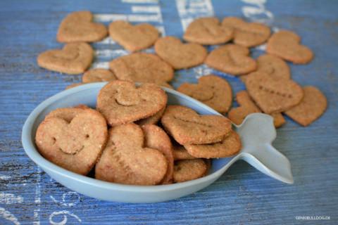 Thunfisch-Bananen Kekse für Hunde