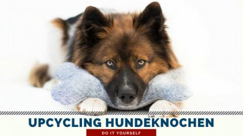 Upcycling Knochenkissen/ -spielzeug