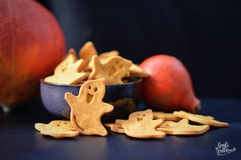 Rezept: Kürbis-Edamer Kekse für Hunde
