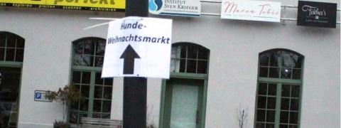 Der erste Chemnitzer Hundeweihnachtsmarkt