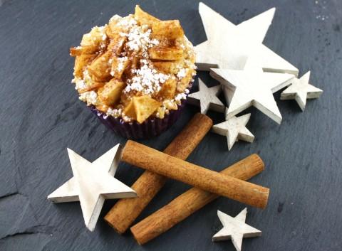 Fremdgebloggt: leckere Apfel-Zimt-Muffins (extra für's Frauchen)