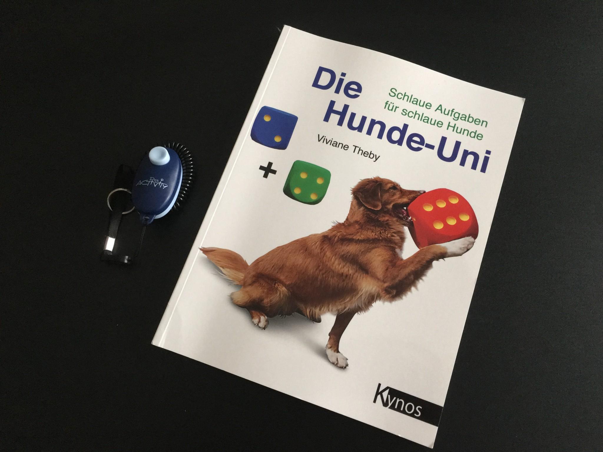 Die Hunde-Uni Tricktagebuch