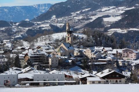 Urlaub mit Hund im Turm in Völs am Schlern (Südtirol)