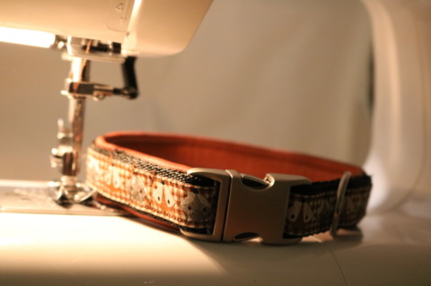 DIY: Ledergepolstertes Hundehalsband