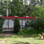 Naturcamping Rehberge Lychen Retzow mit Hund