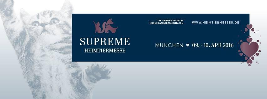 Supreme Münchner Heimtiermesse 2016
