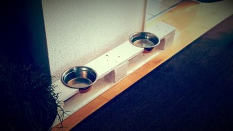 Der Paletten Napf – Aus alt mach Hundenapf