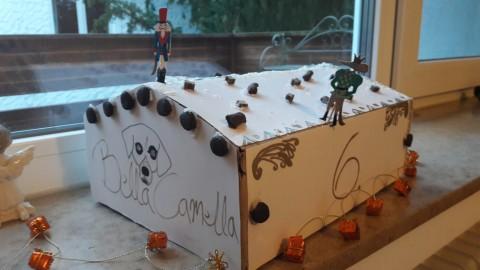 LAST MINUTE Lebkuchenhaus für Hunde / Nikolausgeschenk für Fellnasen