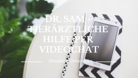 Dr. SAM – tierärztliche Hilfe per Videochat (Anzeige)