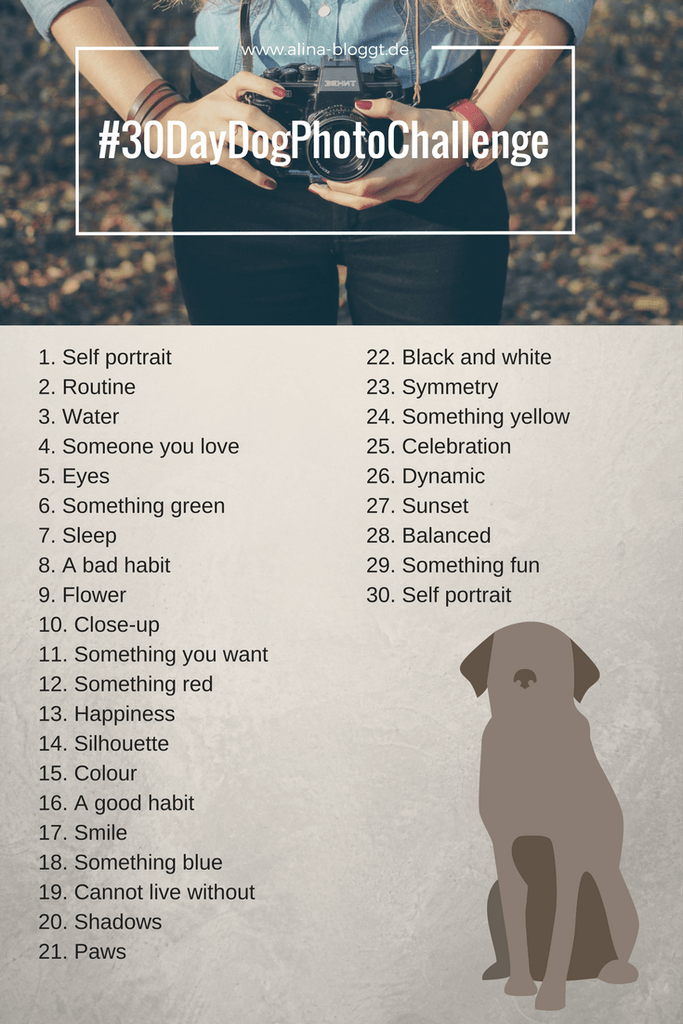 10 Day Dog Photo Challenge