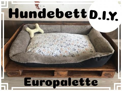 D.I.Y. Hundebett Palette