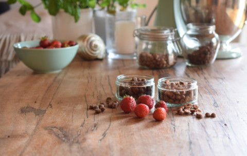 [Rezept mit Erdbeeren] 2 Sorten Mini-Trainings-Leckerli