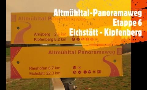 Altmühltal-Panoramaweg mit Hund – Etappe 6: Eichstätt – Kipfenberg