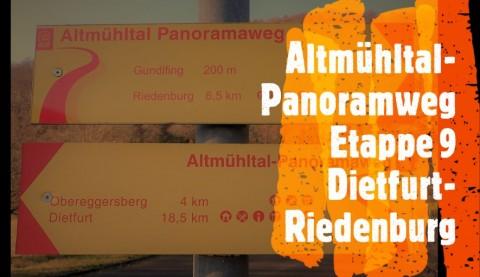 Altmühltal-Panoramweg mit Hund – Etappe 9: Dietfurt –  Riedenburg