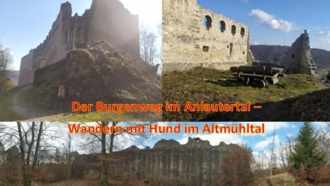 Der Burgenweg im Anlautertal – Wandern mit Hund im Altmühltal