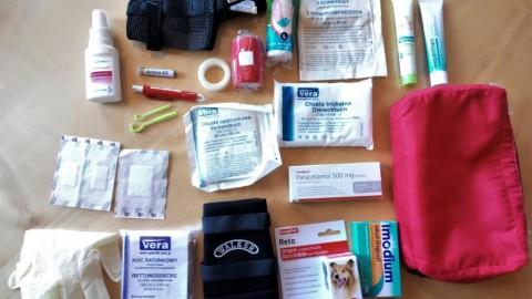 Erste Hilfe-Set für Zwei- und Vierbeiner