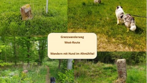 Grenzwanderweg West-Route – Wandern mit Hund im Altmühltal