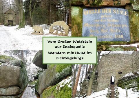 Vom Großen Waldstein zur Saalequelle – Wandern mit Hund im Fichtelgebirge