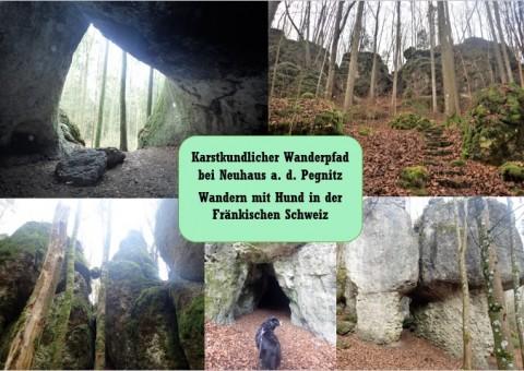 Der karstkundliche Wanderpfad bei Neuhaus – Wandern mit Hund in der Fränkischen Schweiz