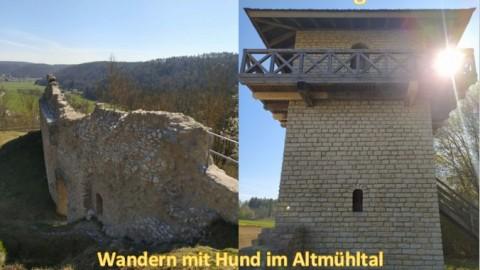 Der Ritter- und Römerweg – Wandern mit Hund im Altmühltal