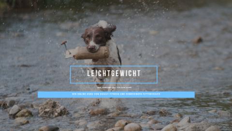LEICHTGEWICHT – DER ABNEHMKURS FÜR DEN HUND || WERBUNG