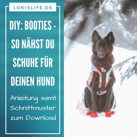 DIY: Booties – So nähst du Schuhe für deinen Hund