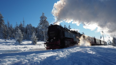 Winterwonderland am Brocken