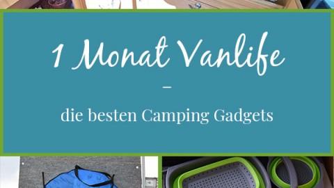 1 Monat Vanlife – die besten Camping Gadgets