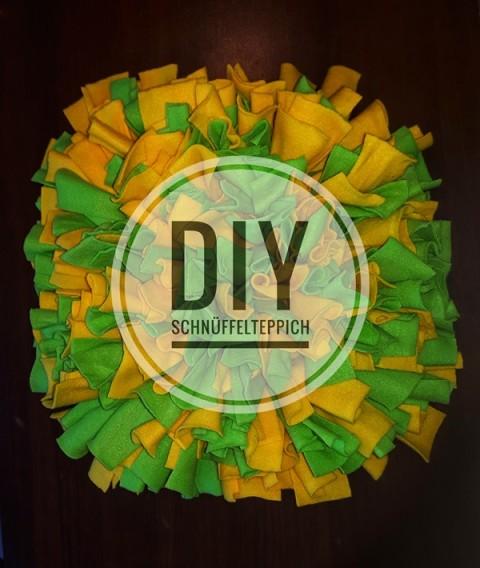 DIY – einen Schnüffelteppich selber machen