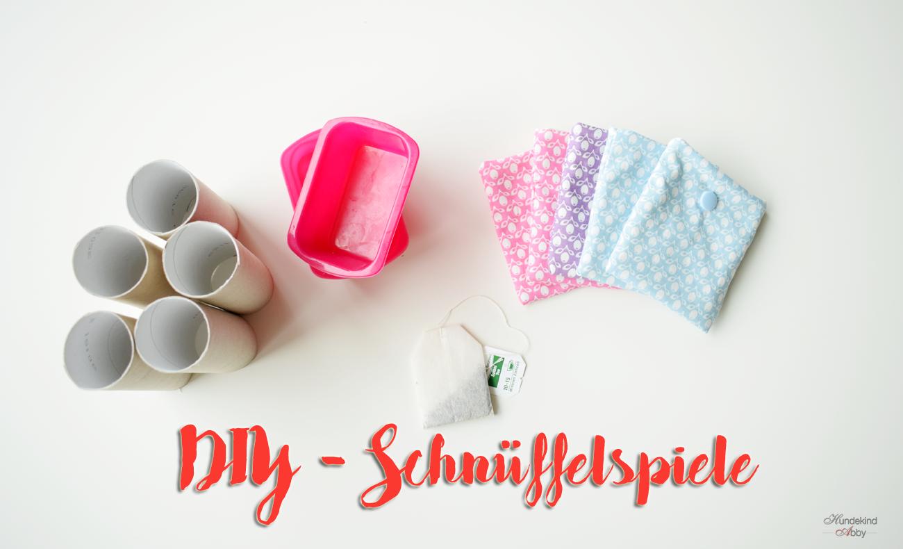 DIY Schnüffelspiele