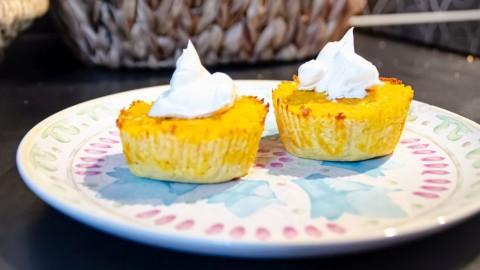 Karotten-Kokos-Cupcake für Hunde