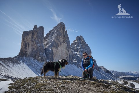 Mit Hund in die Dolomiten: Rund um die Drei Zinnen