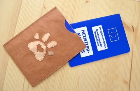 DIY Impfpasshülle – Schutzhülle für den EU-Heimtierausweis nähen
