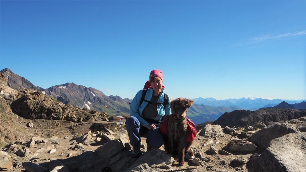 Wandern mit Hund Meraner Höhenweg